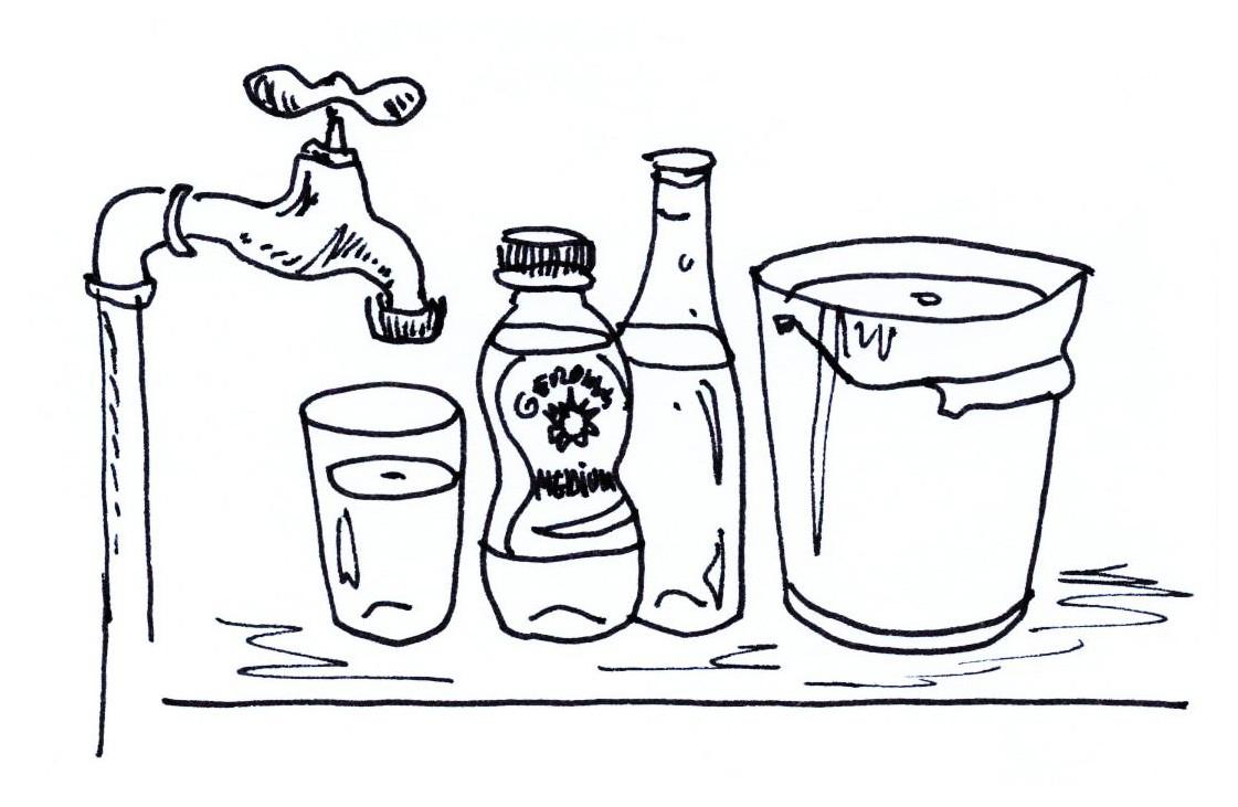 Save water green spirit